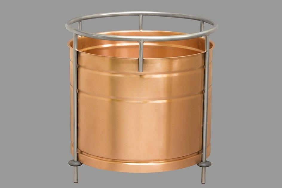 Вставка медная в кубы серии D400 (50 литров)  v.2020