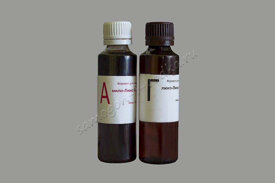 Набор ферментов для зерновых браг (А + Г)
