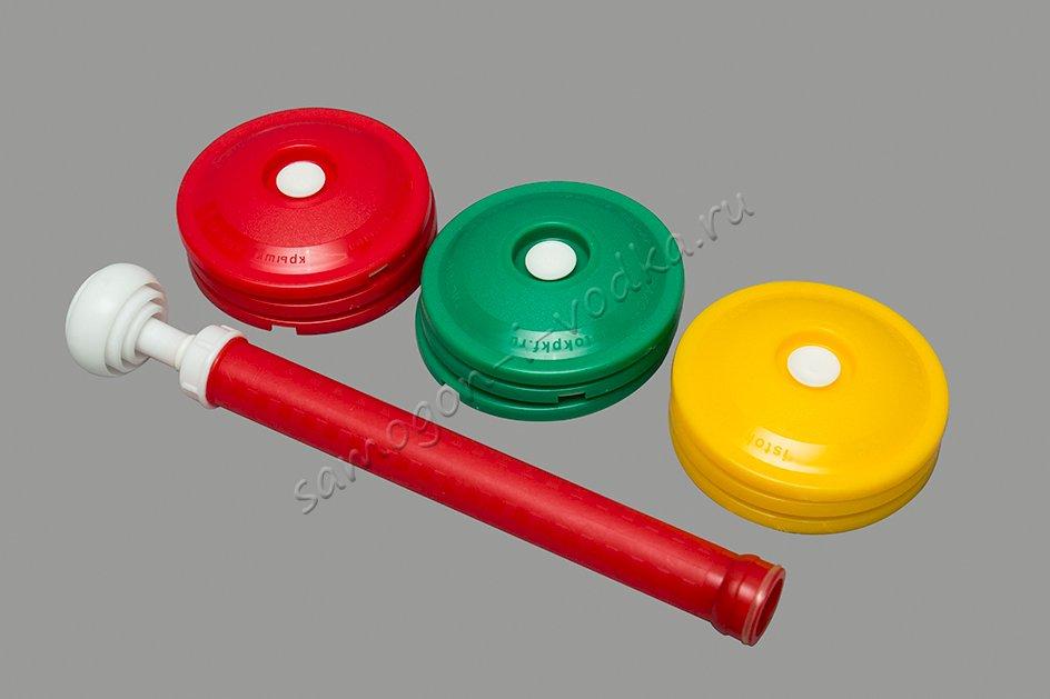 Набор крышек для вакуумного консервирования ВАКС с насосом