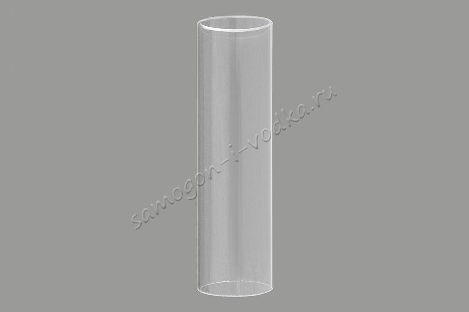 """Дополнительная стеклянная колба для колонны """"медного"""" вкуса серии Д58 L=250mm"""