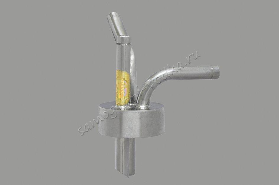 """Заглушка под вакуум для приемной емкости с выходом 1"""" (ХД/4) v2.0"""