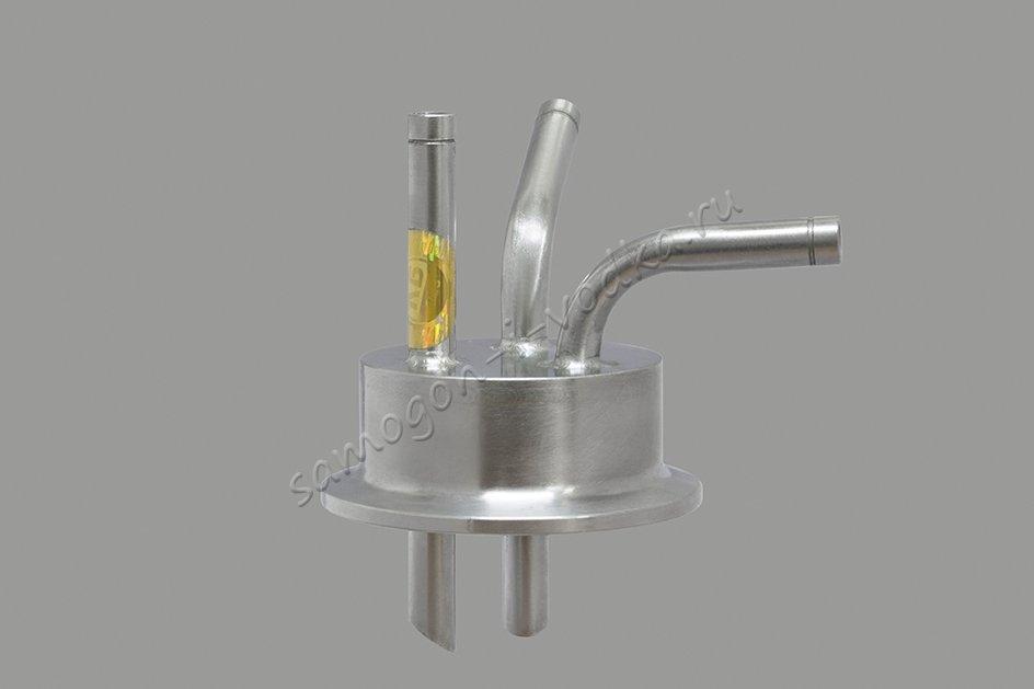 """Заглушка под вакуум для приемной емкости с выходом 2.0"""" (DN50) v2.0"""