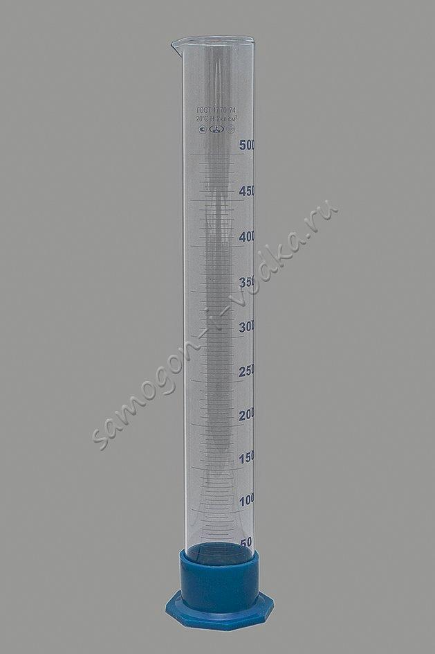 Цилиндр мерный 3-500-2
