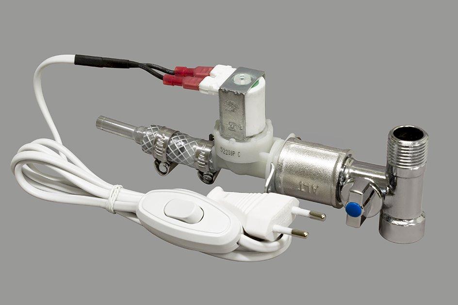 Переходник/регулятор подачи воды с электроклапаном