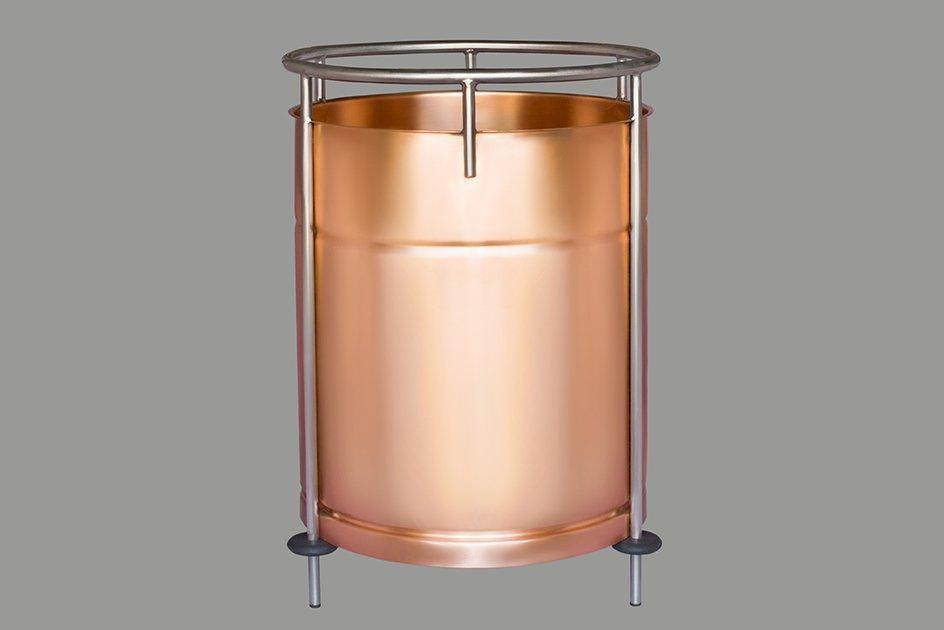 Вставка медная в ПВК 50 литров v.2020
