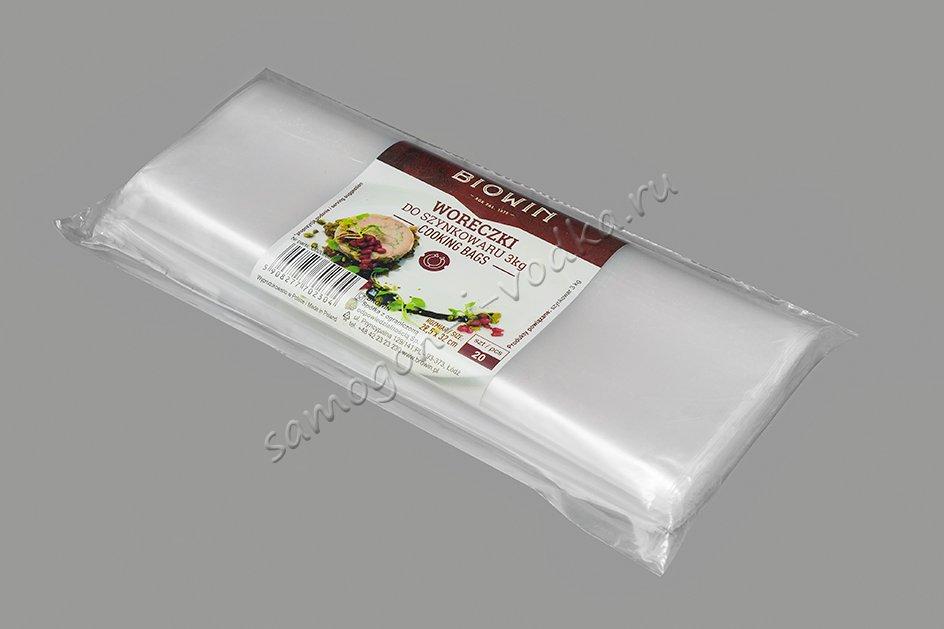 Полиэтиленовые пакеты для ветчинницы 3,0кг (20шт)