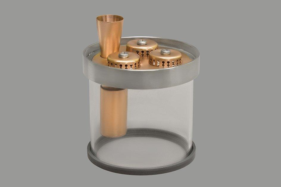 Медный уровень для модульной тарельчатой колонны Д80 серии ВАКУУМ