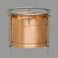Вставка медная в кубы серии D320 (25-27 литров)  v.2020