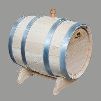 Бочка колотый дуб 15 литров (Дубовая бочка)