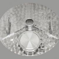 Крышка универсальная плоская, модель 2020 для кубов и ПВК серии D400