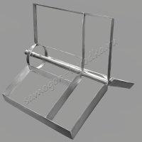 Лопасти для вставки-владыша универсальной мешалки серии D530 для куба 100 литров
