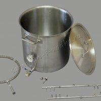 Котeл сусловарочный (заторная емкость) ХД-СК-37